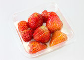 Strawberry Muesli Yogurt — ストック写真