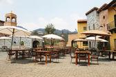 NAKORN RATCHASIMA THAILAND -2014 FEB 25 : Primo Piazza Khao Yai,Tuscana-village Italian style building — Stock Photo