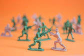 Toy soldier — Stock Photo