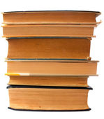 Old books stacked — Stock Photo