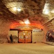 Salt mine — Stock Photo