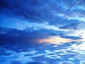 令人惊叹的天空 — 图库照片