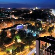 Night view of the city, Donetsk — Stock Photo