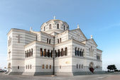 Vladimir Cathedral in the Sevastopol, Crimea, Ukraine — Stock Photo