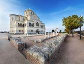 Catedral de vladimir en el sebastopol, crimea, ucrania — Foto de Stock