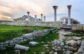 Ruins of  greek colony Khersones, Sevastopol — Stock Photo