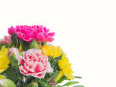 Bouquet of carnation flowers — Stock Photo