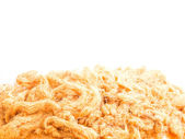 Close up dried shredded pork — Stock Photo