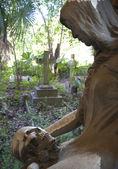 Staglieno Cemetery in Genoa — Stock Photo