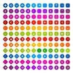 Colorful Vector Arrows Set — Stock Vector #34734983