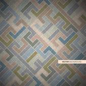 Abstract Vector Retro Background — Stock Vector