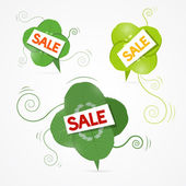 Spring Sale Theme — Stock Vector