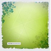 Abstract Green vector background — Stock Vector