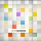 Abstract square vector background — Stock Vector
