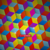 Abstract colorful vector square background — Stock Vector