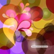 Abstract vector colorful background — Stok Vektör