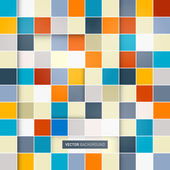 Abstract vector square background — Stock Vector