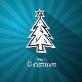 Vector merry christmas thema — Stockvector