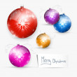 Vector Merry Christmas Background — Vector de stock