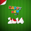 Vector Happy New Year Background — Stock vektor