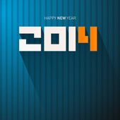Vector Happy New Year Background — Stock Vector