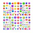 Colorful icons set — Stock Vector