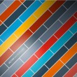 Abstract Retro Rectangle Background — Image vectorielle