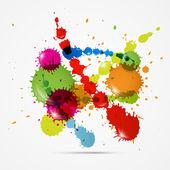 Färgglada blotting — Stockvektor