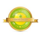 Selo de qualidade premium — Vetorial Stock