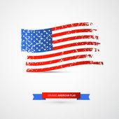 Vector American Flag — Stock Vector