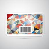 Vector Gift Card — Stock Vector