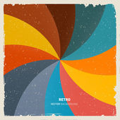 Abstract Retro Background — Stock Vector