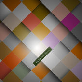 Abstract Square Background — ストックベクタ