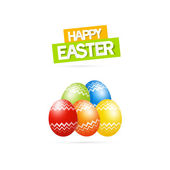 Happy Easter Theme — Stock Vector