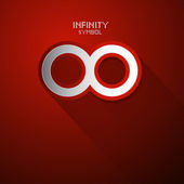 Vector Infinity Symbol — Stock Vector