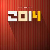 Vektor glad nyåren bakgrund — Stockvektor