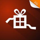 Rode abstract vector merry christmas achtergrond — Stockvector