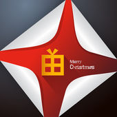 Abstract Vector Merry Christmas Background — Vetorial Stock