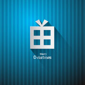 Vector Christmas Blue Background — Stockvektor