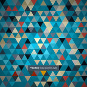 Abstract Retro Triangle Background — Vettoriale Stock