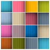 Vector Abstract Retro Colorful Squares Background — Vector de stock