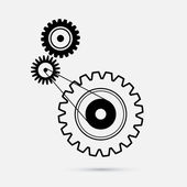 Cogs - Gears Illustration — Stock Vector