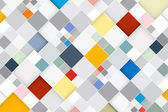 Colorful Vector Abstract Square Retro - Modern Background — Vecteur