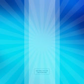 Blue Abstract Vector Blurred Background — Stock Vector