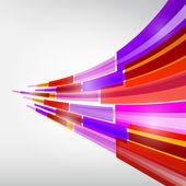 Abstract Colorful Transparent Strips Background — Vecteur