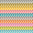 Seamless Abstract Colorful Toothed Zig Zag Paper Background — Stock Vector #43131163