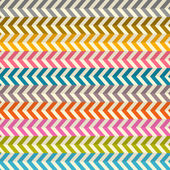 Seamless Abstract Colorful Toothed Zig Zag Paper Background — Stock Vector