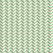 Seamless Retro Abstract Green Toothed Zig Zag Paper Background  — Stock Vector