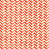 Seamless Retro Abstract Red Toothed Zig Zag Paper Background  — Stock Vector
