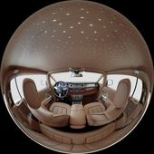 Litttle planet interior — Stock Photo